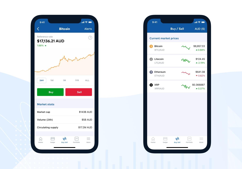 CoinJar Mobile App